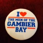 I Love the Men Button Pin - 11