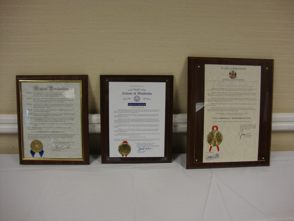 Proclamations - 2012