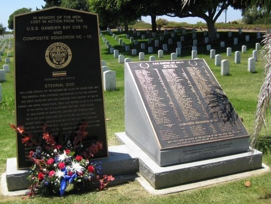 Memorial in San Diego