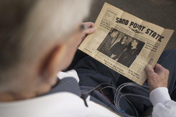 Berven - 1945 Photo of Newspaper
