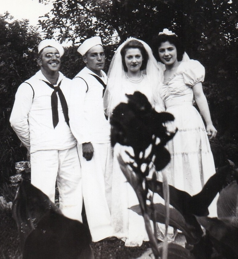 Chester Richie - Wedding Photo - 1943