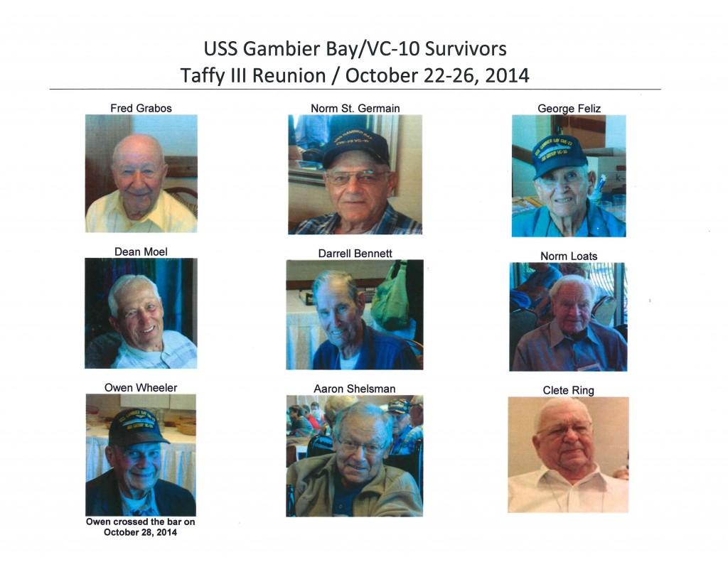 Survivors - After Luncheon - Mug Shots