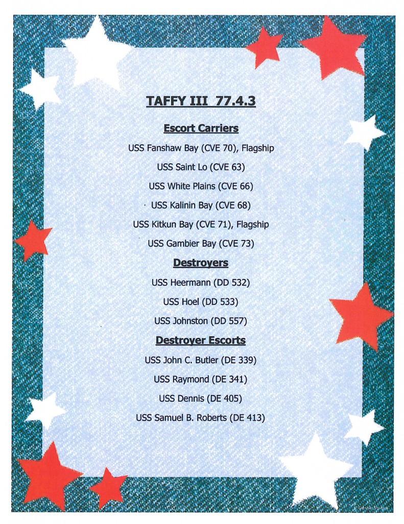 Taffy 3 Ships