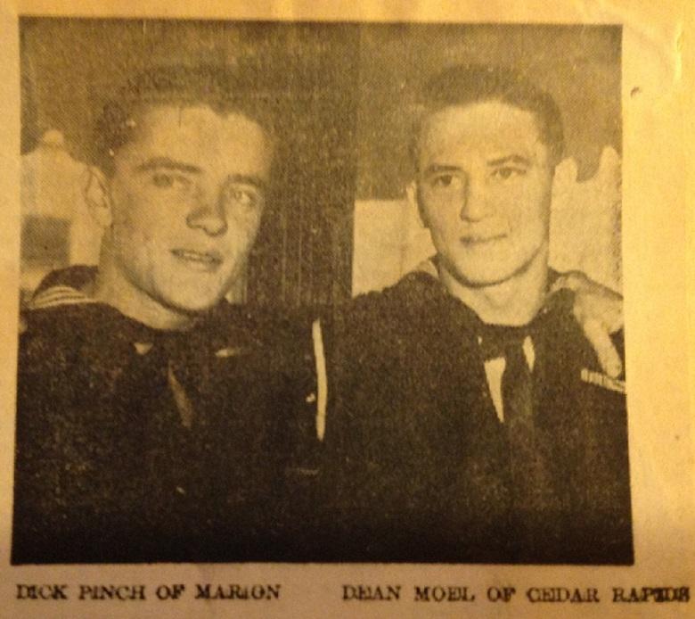 Spark and Dean - 1944 Photo