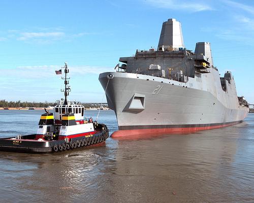 USS New York - 1