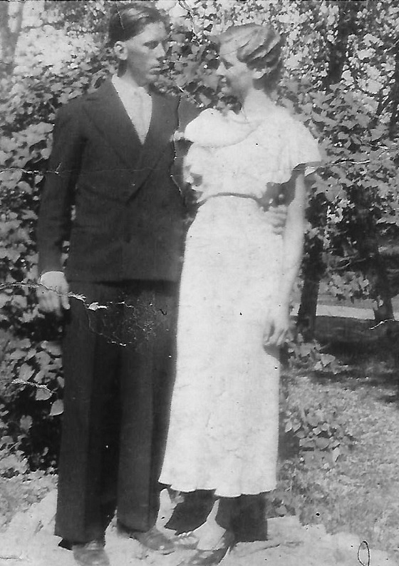 Lage and Signe - Wedding / 1933