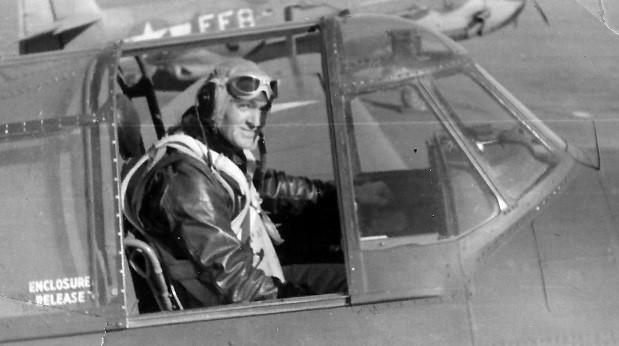 Paul Bennett - Pilot in Jet